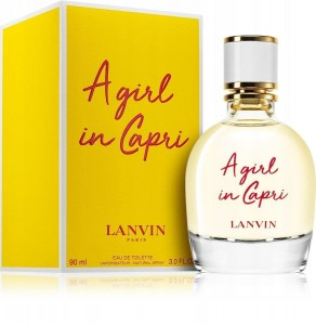 Woda Toaletowa Damska LANVIN A GIRL IN CAPRI EDT 90ML
