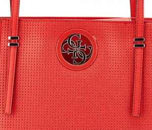 TOREBKA GUESS OPEN ROAD TOTE POPPY